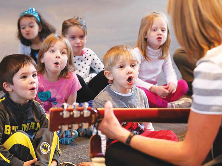 Музыка в Академии Детства