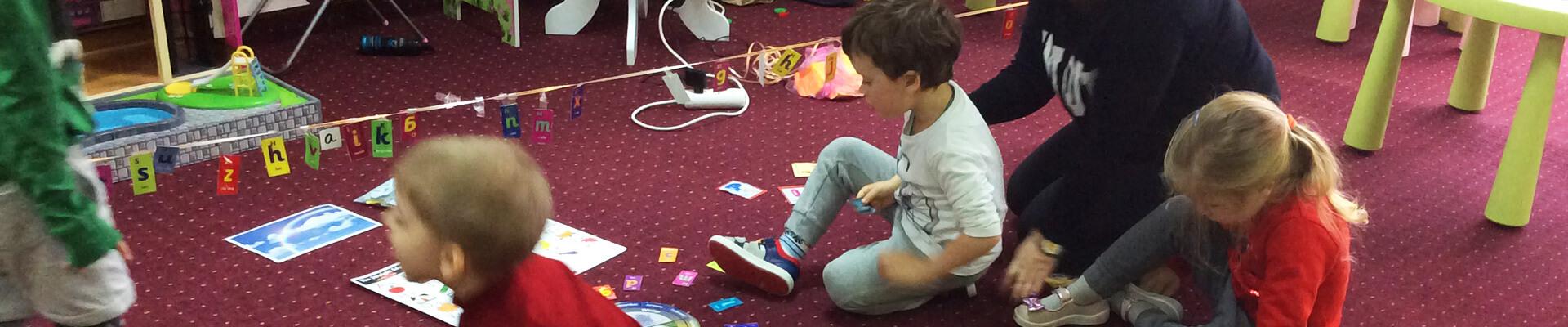 Курсы английского для детского сада Академия Детства
