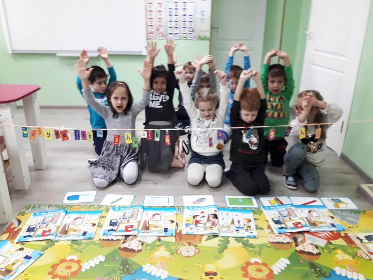 Английский язык в детском садике Академия Детства