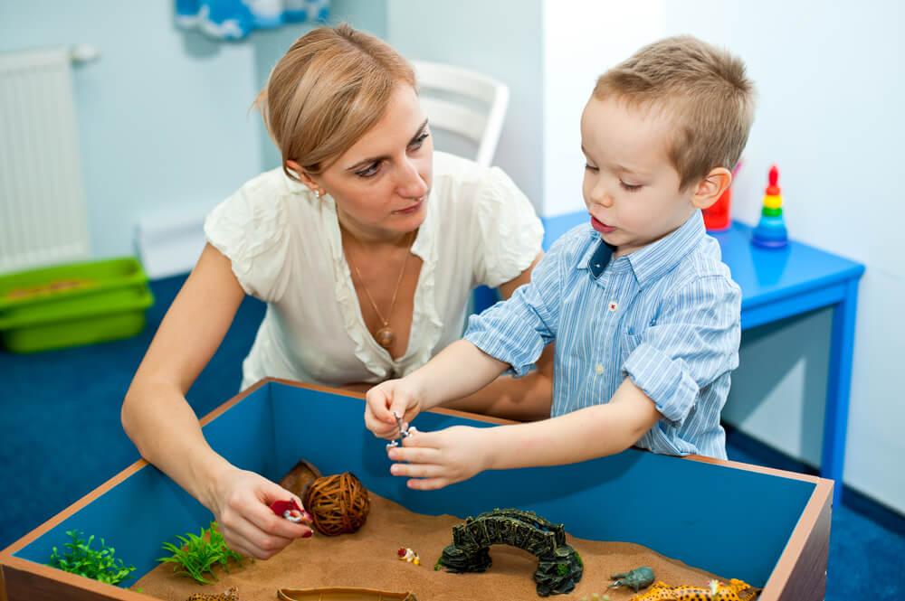 детский психолог в детском саду