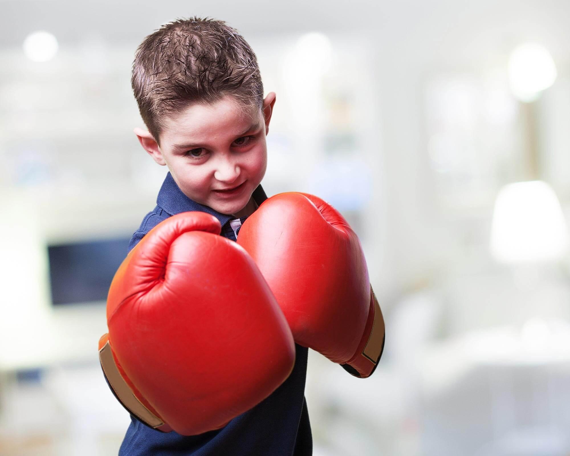 занятия боксом в детском саду Академия Детства