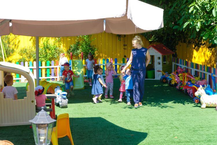 Площадка для игр в детском саду Академия детства
