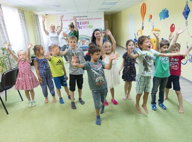 Групповые занятия в детском саду Академия Детства