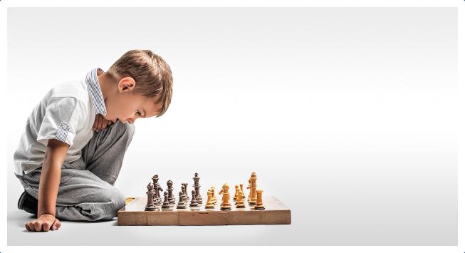 Занятия шахматами в Академия Детства